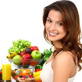 фрукты и витамины для кожи